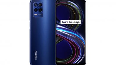 Realme 8s 5G with 5000mAh battery, 64MP camera and 8GB RAM + 128GB storage