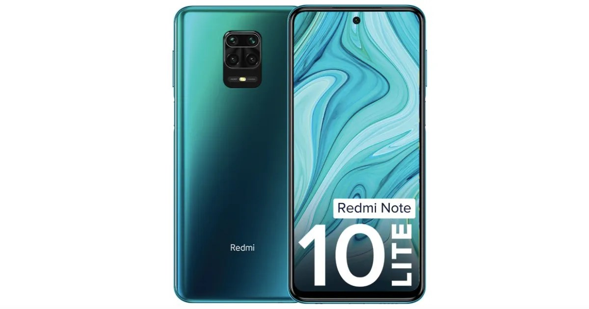 Redmi Note 10 Lite launched with 5020mAh battery & 48MP camera