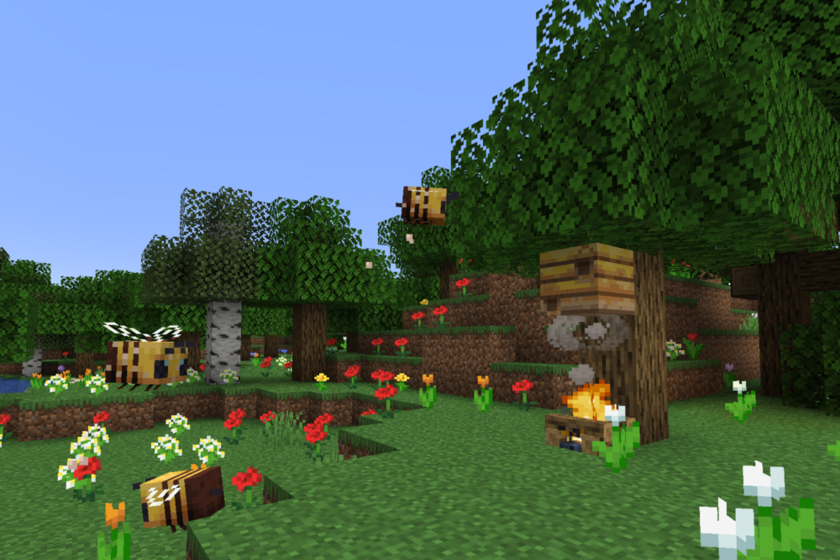 Where to find bees in Minecraft and how to extract honey, sweet delicacy?