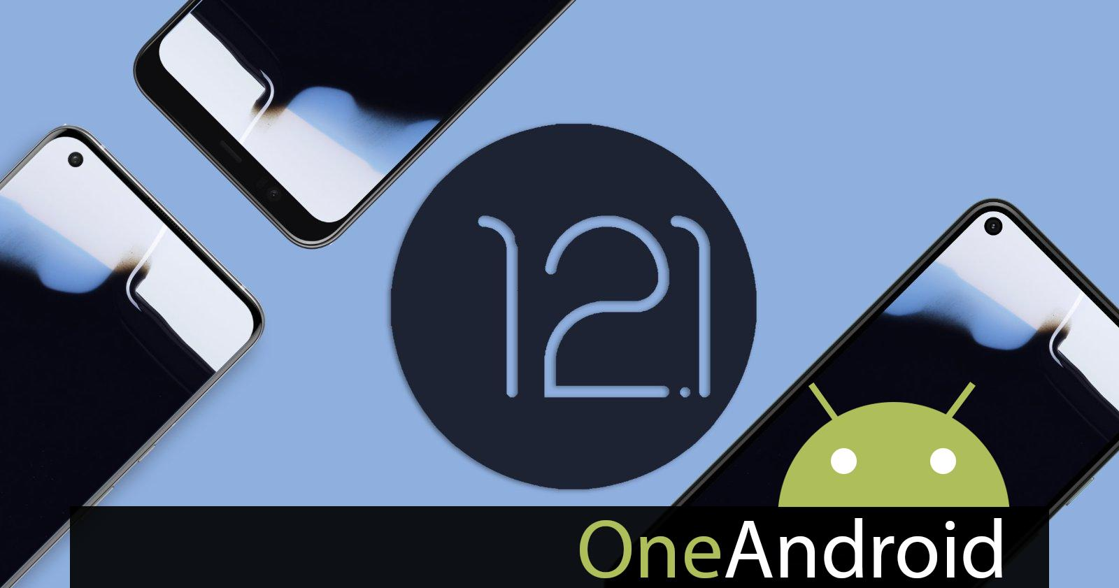 You can now download the new official Android 12.1 wallpaper